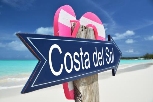 What does the Costa del Sol can offer in summer on activities in addition to golfing or sunbathing?